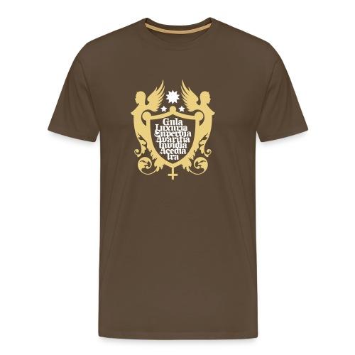 7 Todsünden - Männer Premium T-Shirt