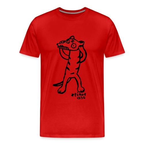 Beatrice Barth Thylacine - Männer Premium T-Shirt