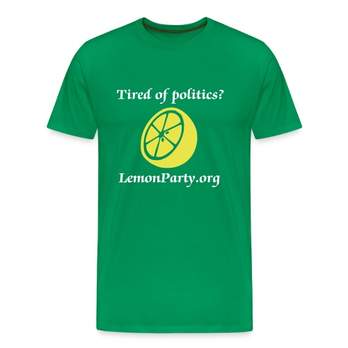 LemonParty.org - Men's Premium T-Shirt