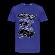 Koszulki ~ Koszulka męska Premium ~ Kolekcja TAPE Art: 0087