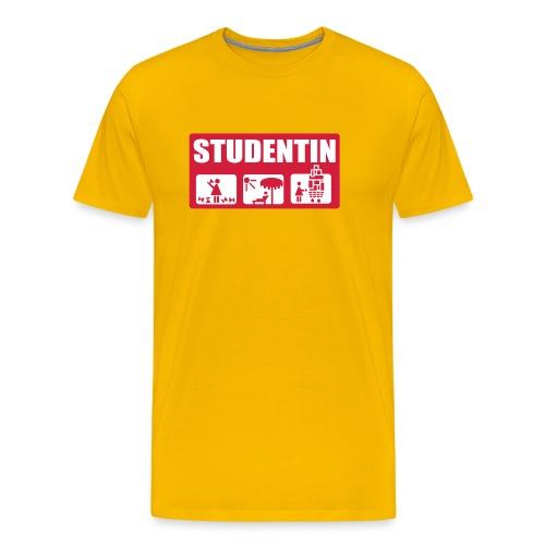 Männer Premium T-Shirt - spaß,lustigRock,lustig,günstig,funny,fun,electro,action,Rock