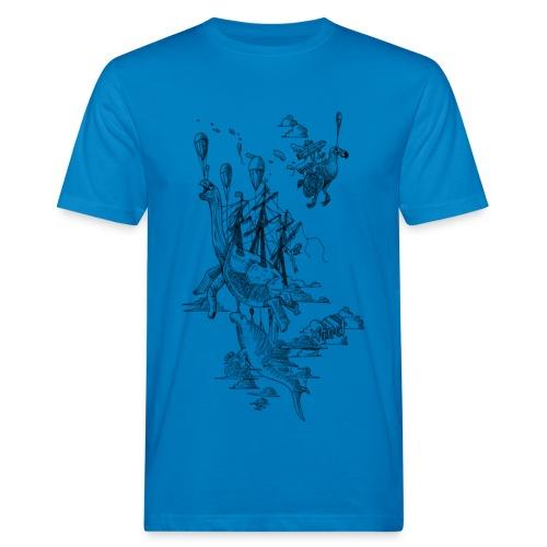 Sven Palmowski Flugschiffe - Männer Bio-T-Shirt