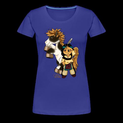 Präriefreunde - Frauen Premium T-Shirt