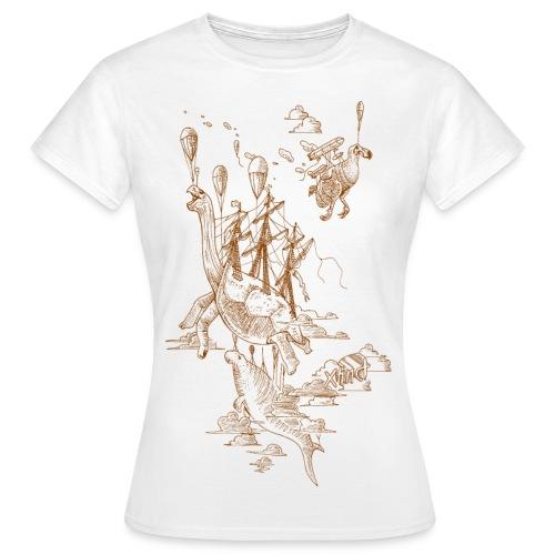Sven Palmowski Flugschiffe - Frauen T-Shirt
