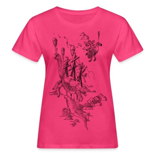 Sven Palmowski Flugschiffe - Frauen Bio-T-Shirt