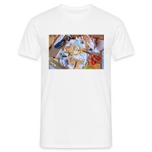 Mint - Glued, Stapled, Remixed Tee - Men's T-Shirt