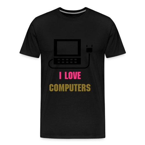 i love computers - Mannen Premium T-shirt
