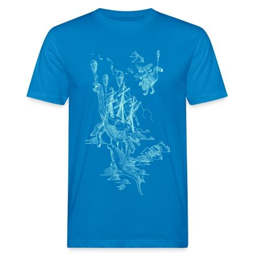 Sven Palmowski Flugschiffe Shirt - Männer Bio-T-Shirt