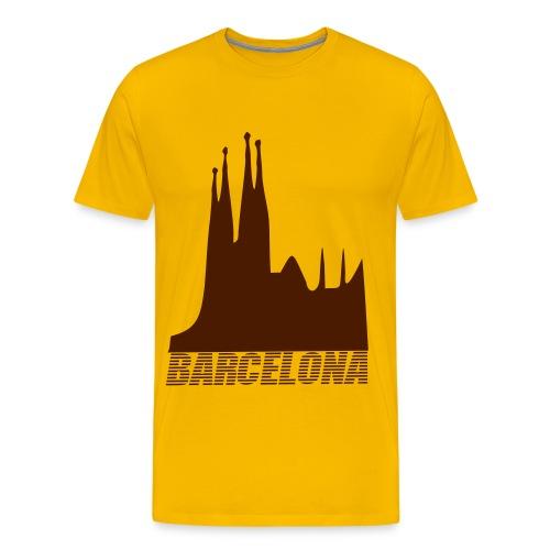 Spanien Shirt Barcelona  - Männer Premium T-Shirt