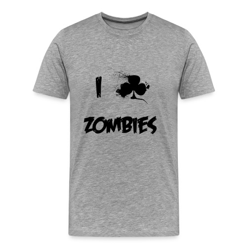I Club Zombies - Men's Premium T-Shirt