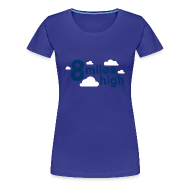 T-Shirts ~ Women's Premium T-Shirt ~ 8 Miles High