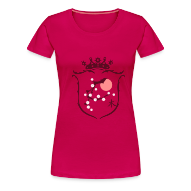 Pink Coat of arms Women's T-Shirts