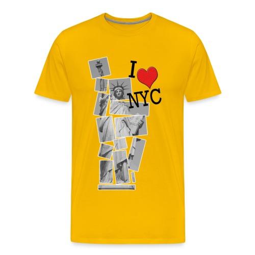 I Love NYC - Männer Premium T-Shirt