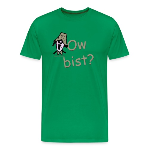 Ow Bist? mens big & tall t-shirt - Men's Premium T-Shirt