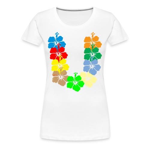 Hawaiian style - Maglietta Premium da donna