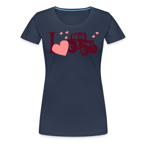 i love tracktor - Women's Premium T-Shirt