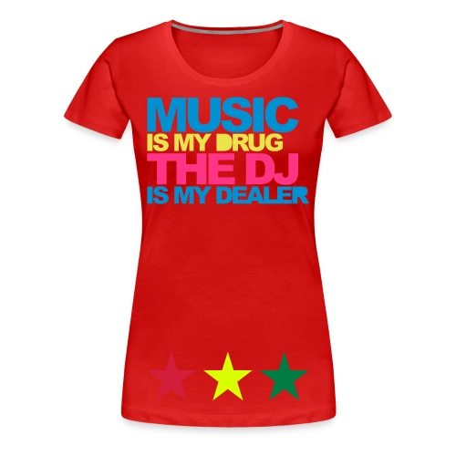 Music Lover - Premium-T-shirt dam
