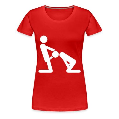 Blow me up - Frauen Premium T-Shirt