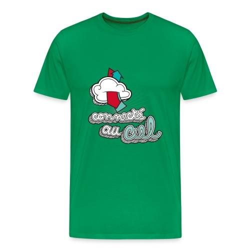 connecté au ciel - T-shirt Premium Homme