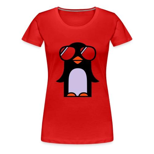 lonely pinuin - T-shirt Premium Femme