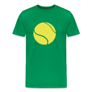 T-shirts ~ Herre premium T-shirt ~ Tennis time