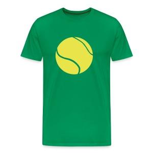Tennis time - Herre premium T-shirt