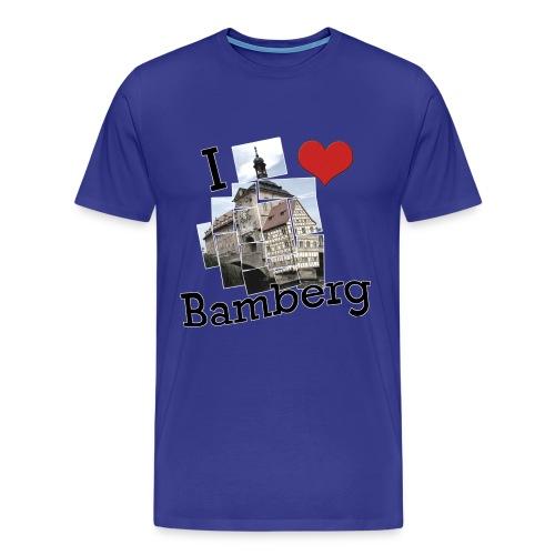 I love Bamberg  - Männer Premium T-Shirt