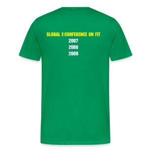 Virtual Conference Delegate - Men's Premium T-Shirt