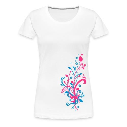 Flowery - Women's Premium T-Shirt