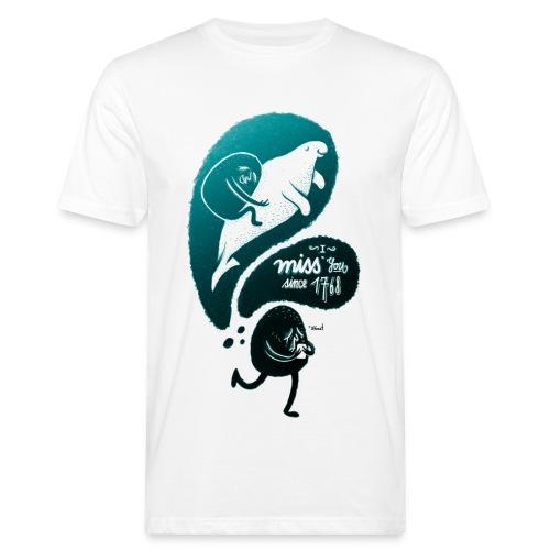Peachbeach Riesenseekuh - Männer Bio-T-Shirt