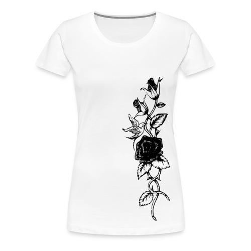 Roses of Birds - Frauen Premium T-Shirt