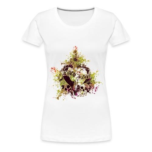 Frauen Girlieschirt/Skullheart - Frauen Premium T-Shirt