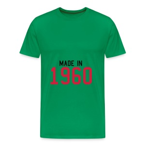 mannen  oversize shirt  in  5 kleuren - Mannen Premium T-shirt