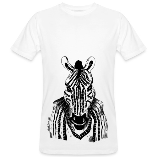 Sandra Barth Quagga klimaneutral Shirt - Männer Bio-T-Shirt