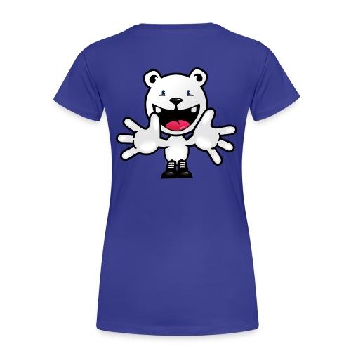 Eisbär Welcome Shirty - Frauen Premium T-Shirt
