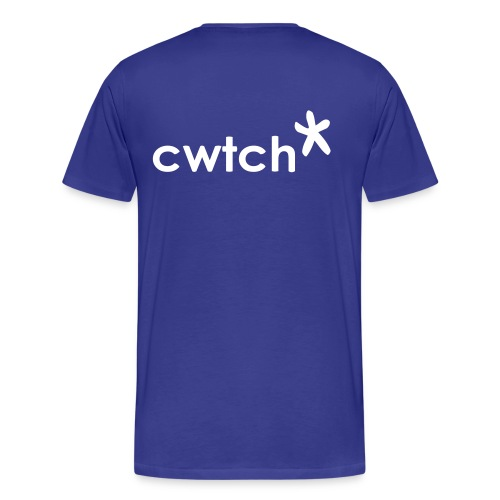 big back print cwtch star, get your boyfriend to buy it and 'borrow' it - Men's Premium T-Shirt