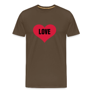 T-shirts ~ Mannen Premium T-shirt ~ Love - Heren