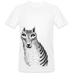 Sandra Barth Beutelwolf Shirt - Männer Bio-T-Shirt