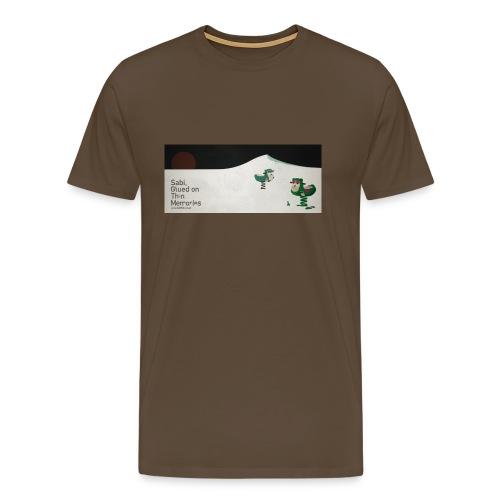 Sabi - Glued on Thin Memories Tee - Men's Premium T-Shirt