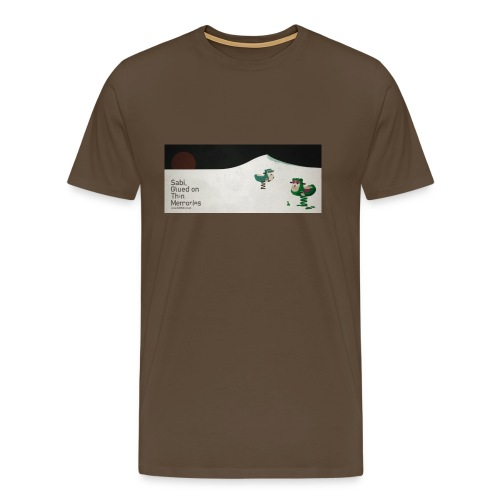 Sabi - Glued on Thin Memories Tee - Men's Premium T-Shirt