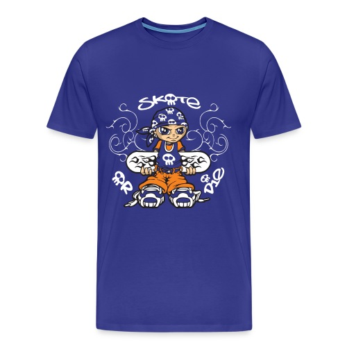 Tribal skater boy - Men's Premium T-Shirt