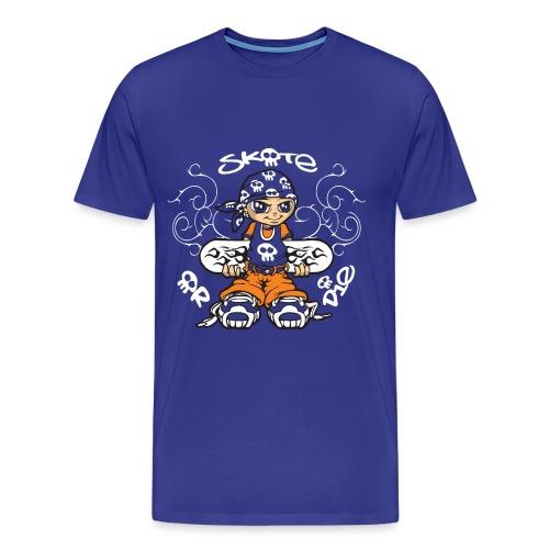 Tribal skater boy - Men's Premium T-Shirt
