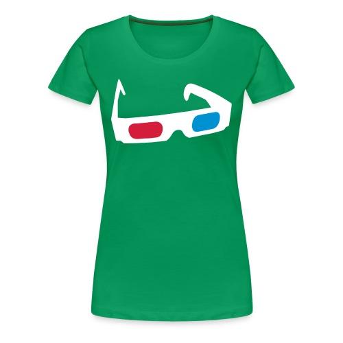 3D Green - Maglietta Premium da donna