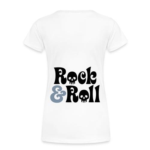 Woman's Rock & Roll T-shirt - Women's Premium T-Shirt