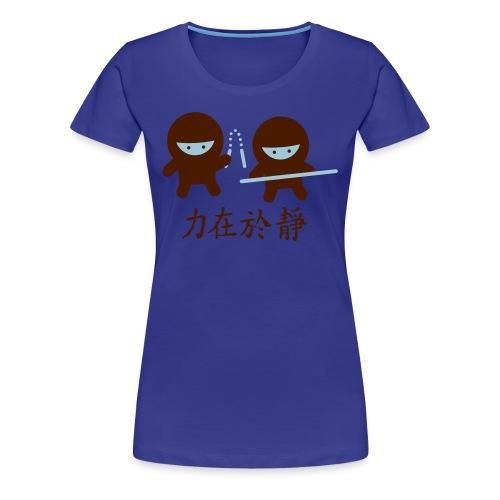 Ninja Power Shirty - Frauen Premium T-Shirt