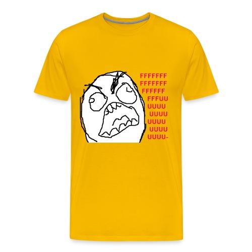 Rage Face - Koszulka męska Premium