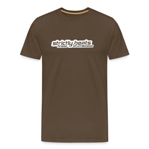 Shirt klassisch edelbraun - Männer Premium T-Shirt