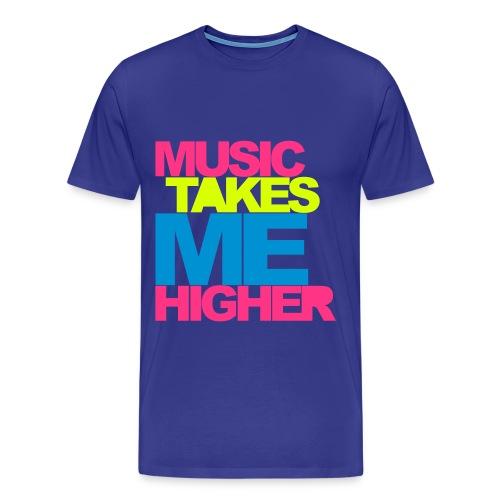 Higher - Männer Premium T-Shirt