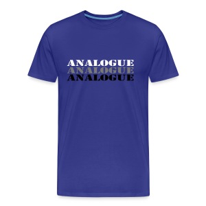 Analogue - Men's Premium T-Shirt
