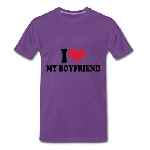 tekst t-shirt - Mannen Premium T-shirt